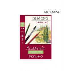 Fabriano Academia Disegno Drawing tömb 200g-30lap, 29,7x42cm