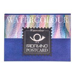 FABRIANO Postcard akvarell tömb 300gr, 10,5x14,48cm/20lap