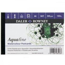Daler Rowney Aquafine akv.tömb képeslap A6 300g 12lap