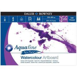 Daler Rowney Aquafine akv.tömb érdes A4-10lap (1,4mm vastagság/lap)