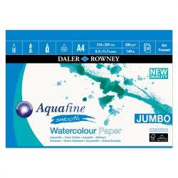 Daler Rowney Aquafine akv.tömb JUMBO sima A4 300g 50lap