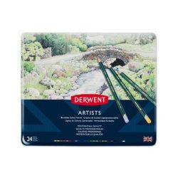 Derwent Artists ceruza 24szín/klt