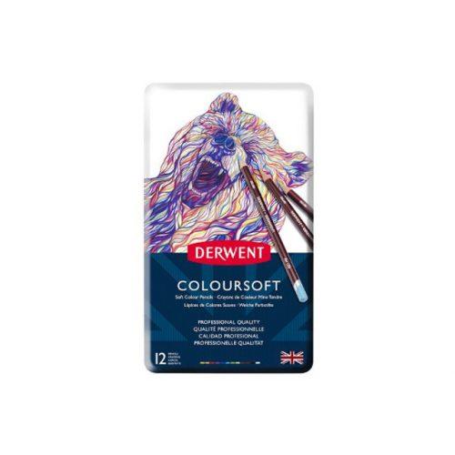 Derwent Coloursoft ceruza 12szín/klt