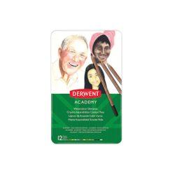 Derwent ACADEMY akvarell ceruza klt. arctón12szín/klt (2300386)
