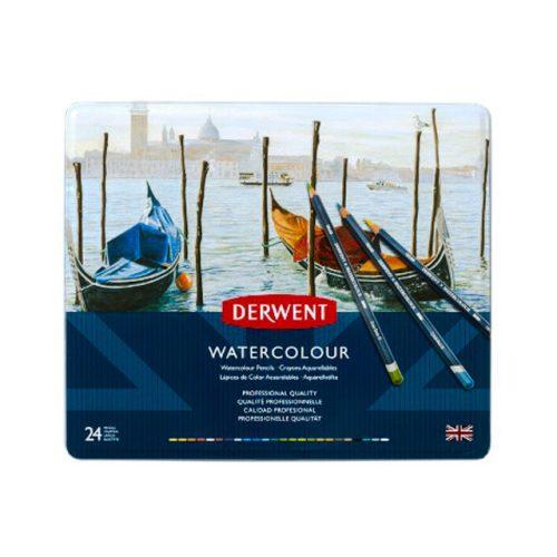 Derwent Watercolour akvarell ceruza 24szín/klt