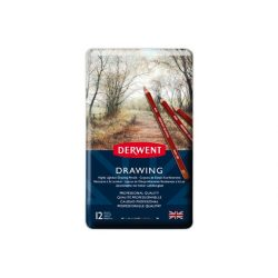 Derwent Drawing ceruza 12szín/klt