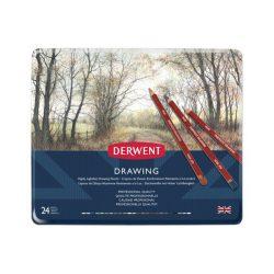 Derwent Drawing ceruza 24szín/klt
