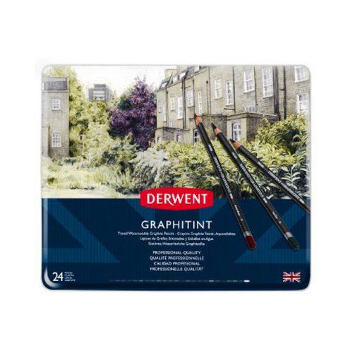 Derwent Graphitint ceruza 24szín/klt.