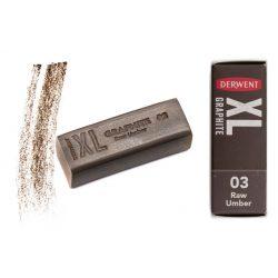 Derwent XL Grafittömb, természetes umbra 03 - 2302019