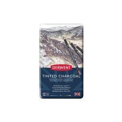 Derwent Tinted Charcoal ceruza 12szín/klt