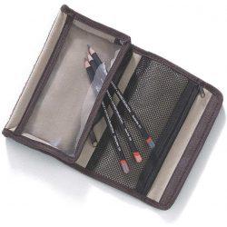 Derwent ceruzatartó textilből, két zsebes