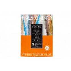Fabriano akvarell studio tömb 22,9x30,5cm 200g 20lap