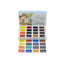 """""""Sonnet"""" akvarellfesték készlet 16 szilke, karton doboz"""