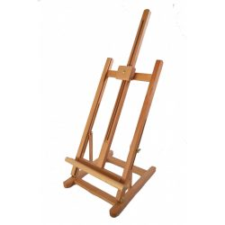 Festőállvány, asztali bükkfa 27,5*32*75 cm