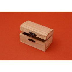 Minidoboz, kincsesláda 9 x 4,7 x 6 cm
