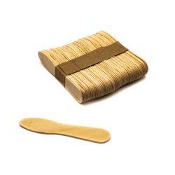 "Fa spatula ""babapiskóta"" forma, 7,5*1cm, 50db/csg"