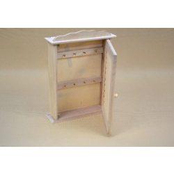 Fa kulcsos szekrény 7,5*22*30cm