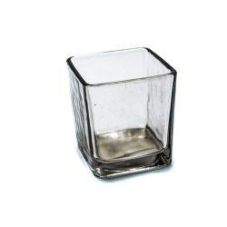 Mécsestartó 7x7,5x7cm kocka