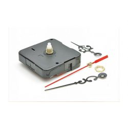 Óraszerkezet, 2 féle mutatóval (csendes, tengelyhossz: 9mm)