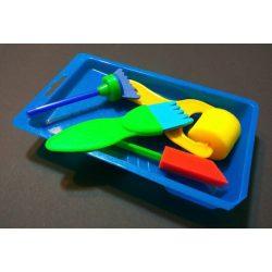 Műanyag festőkés készlet 5 féle