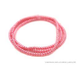 Teklagyöngy füzér rózsaszín 4mm