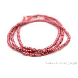 Teklagyöngy füzér erős rózsaszín 4mm