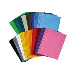Filclap 29,5x19,5cm, 1,5-2 mm vastag, fekete