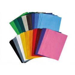 Filclap 29,5x19,5cm, 1,5-2 mm vastag, középkék