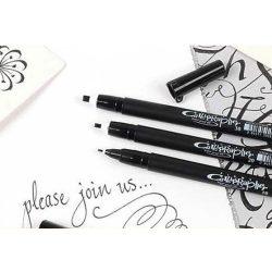 Filctoll, Pigma Calligrapher 30, fekete