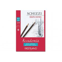 Fabriano Academia Schizzi / Sketching tömb 120g-50lap, 21x29,7cm (ragasztott) 41122129
