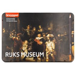 Bruynzeel Rijks Museum ceruzakészlet 50db-os, fémdobozos