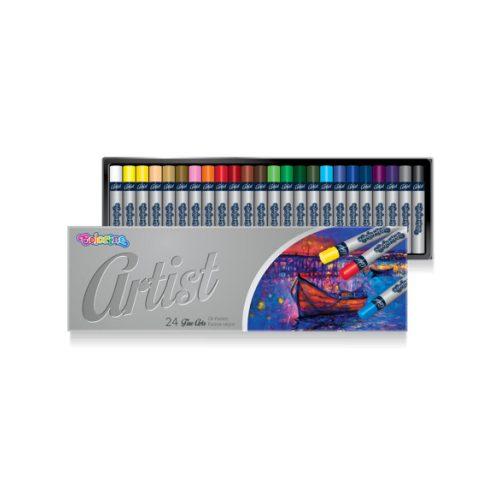 Olaj pasztell szett 24db-os Colorino Fine Arts