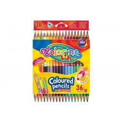 Colorino Kids trio kétvégű 18/36-os színesceruza készlet
