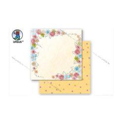 """Scrapbook papír """"Flower magic"""" 03"""
