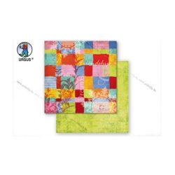 """Scrapbook papír """"Colour Expolsion"""" 57"""
