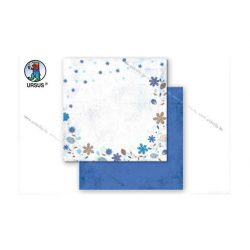 "Scrapbook papír ""Country flowers"" sárga 94"