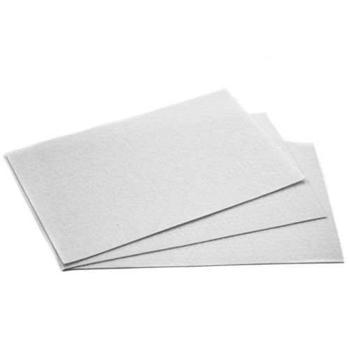 Filc 20x30cm, 1,5mm vastag, fehér