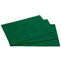 Filc 20x30cm, 1,5mm vastag, közép zöld