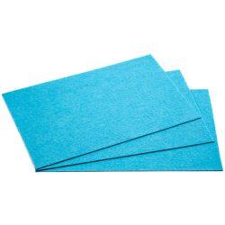 Filc 20x30cm, 1,5mm vastag, ég kék