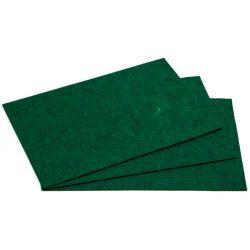 Filc 20x30cm, 1,5mm vastag, sötétzöld