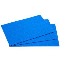 Filc 20x30cm, 1,5mm vastag, élénk kék