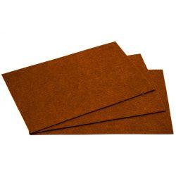 Filc 20x30cm, 1,5mm vastag, világos barna