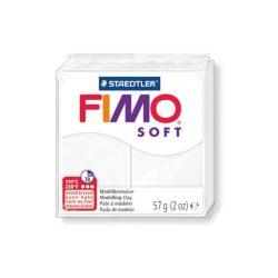 FIMO Soft gyurma 57g, 0 fehér