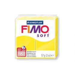 Fimo soft gyurma, 57g, citrom 10