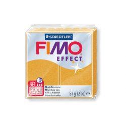 Fimo Effect Gyurma, metál, 57g, arany 11