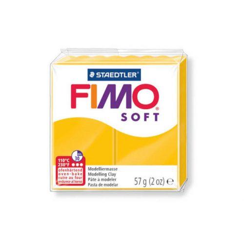 Fimo soft gyurma, 57g, napsárga 16