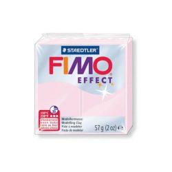 Fimo Effect Gyurma, áttetsző, 56g, sárga 104