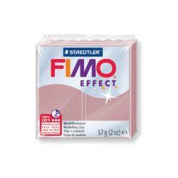 Fimo Effect Gyurma, 57g, gyöngyház rózsa arany 207
