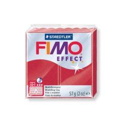 Fimo Effect Gyurma, metál, 57g, rubin 28