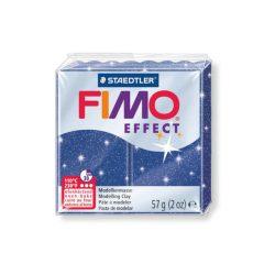 Fimo Effect Gyurma, csillámos, 57g, kék 302